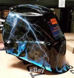 TDB pro Solar Auto Darkening Welding Helmet Arc Tig mig certified mask grinding