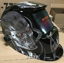 TMR Solar Auto Darkening Welding Helmet Arc Tig Mig Mask Grinding Hood@$$%%##