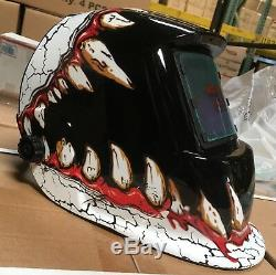 TWT Auto Darkening ANSI Welding/Grinding Helmet with sensitive/delay time control