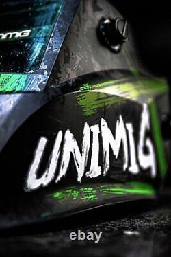 Toxic Helmet, Hood, Gloves Welding Bundle Protection Unimig Rogue Mig Tig