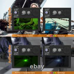 True Color 3.64x1.67 View Auto-Darken Welding Helmet for ARC TIG MIG Weld