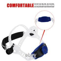 True Color Extra Large View Pro Solar Welding Helmet Auto Darkening-Welder Mask