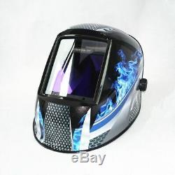 True Color Lens Welding Helmet Auto Darkening 4 Sensors Welding Gear