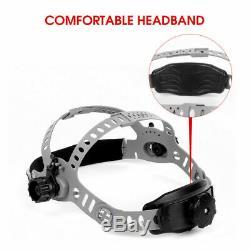 True Color Welder Mask Hood Auto Darkening Welding Helmet Side View TIG/MIG/ARC