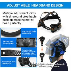 True Colour Extra Large View Mig Tig Arc Auto Welding And Grinding Helmet