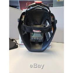 Used Lincoln Viking 3350 Black Welding Helmet with4C Lens (K3034-4)