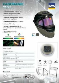 Visor For Welding Mask Helmet Panoramic Car Body Workshop 037281 GYS