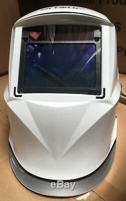 WFF AUTO DARKENING WELDING/GRINDING HELMET sensitive, 4 sensor, DIN 4-13 Hood$$#