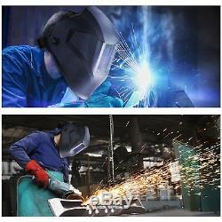 WGT mask AUTO DARKENING WELDING/GRINDING HELMET big viewith4 sensor/DIN 4-13 Hood