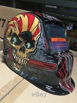 WSK Solar Auto Darkening Welding/grinding Helmet certified hood