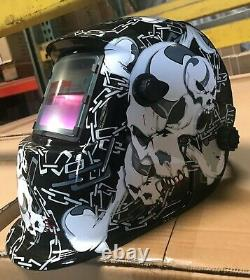 WSLD Solar Auto Darkening Welding Grinding Helmet hood mask