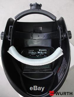 WURTH Auto Darkening Welding Helmet Solar DIN 9-13 Mask