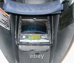 Weld Helmet Miller 241975 Auto-Darkening Helmet Digital Elite Series Black