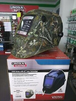 Welding Helmet, Camouflage Graphic, Green K4411-3 White Tail Camo