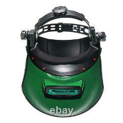 Welding Helmet Mask Auto Darkening Grinding Function Solar Power UV protection
