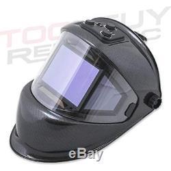 Welding Helmets TGR Panoramic 180 View Solar Powered Auto Darkening True Color