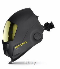 Welding helmet auto darkening