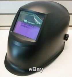 Weldmark Variable Shade Auto-Darkening Welding Helmet BLACK WM8VS9-13H