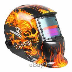 XDH ProSolar Auto Darkening Welding Helmet Arc Tig Mig Mask Grinding Welder DH-A