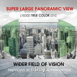 YESWELDER Large View True Color Auto Darkening Welding Helmet with Side View