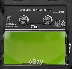 YSL WELDING/Grinding HELMET AUTO DARKENING cheater-lens-ready HOOD