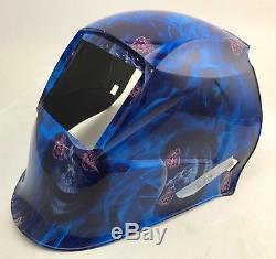 YSL certified mask Auto Darkening Welding Helmet+Grinding UBK