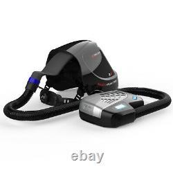 YesWelder M800H Auto Darkening Welding Helmet with PAPR Kit