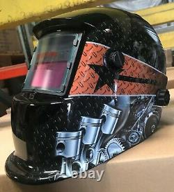 ZRTD Solar Auto Darkening Welding Grinding Helmet hood mask