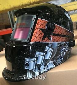 ZRTD Solar Certified ANSI CE Welding/Grinding Helmet Hood Mask $$@@